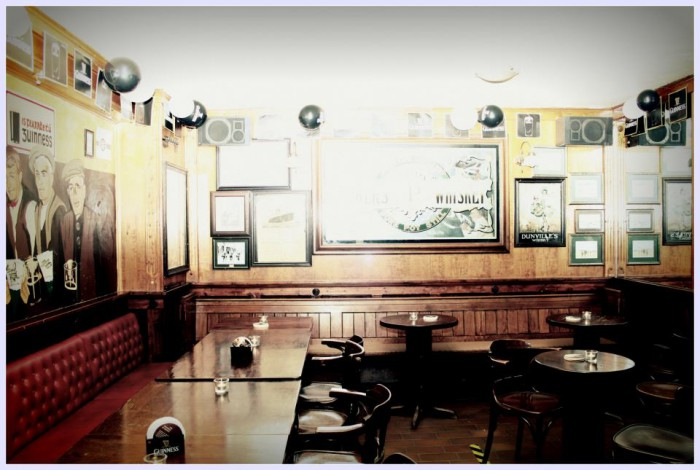 Die Lounge im Irish Pub Koblenz