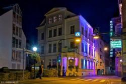 Irish Pub Koblenz von Aussen bei Nacht