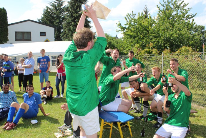 1. Platz Irish Pub Koblenz - Internationales Turnier der Hobbyfußballmannschaften 2015