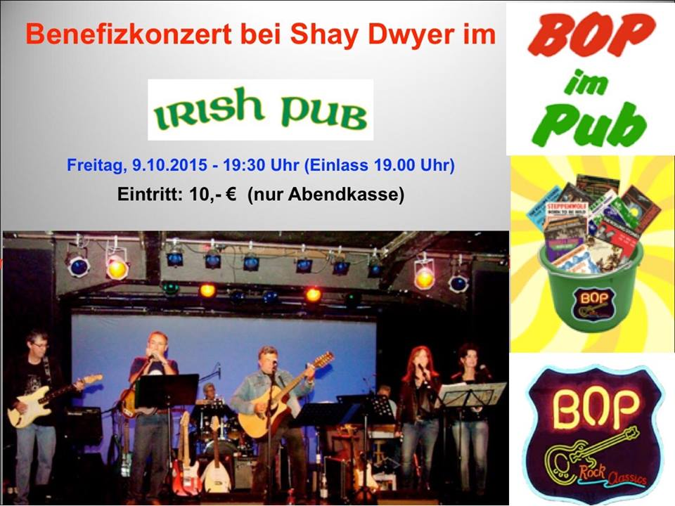 BOP im Irish Pub Koblenz